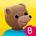 Le grand imagier bilingue des tout-petits avec Petit Ours Brun : apprendre en s'amusant le vocabulaire de la maternelle en français et en anglais.
